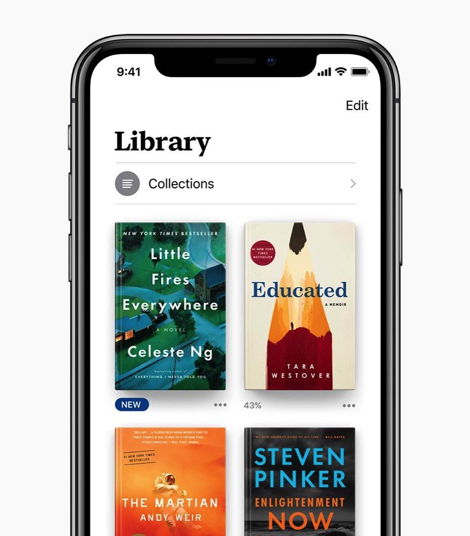 Apple、「Apple Books」に関するプレスリリースを公開 ー 「iBooks」をリニューアルし「iOS 12」に搭載へ