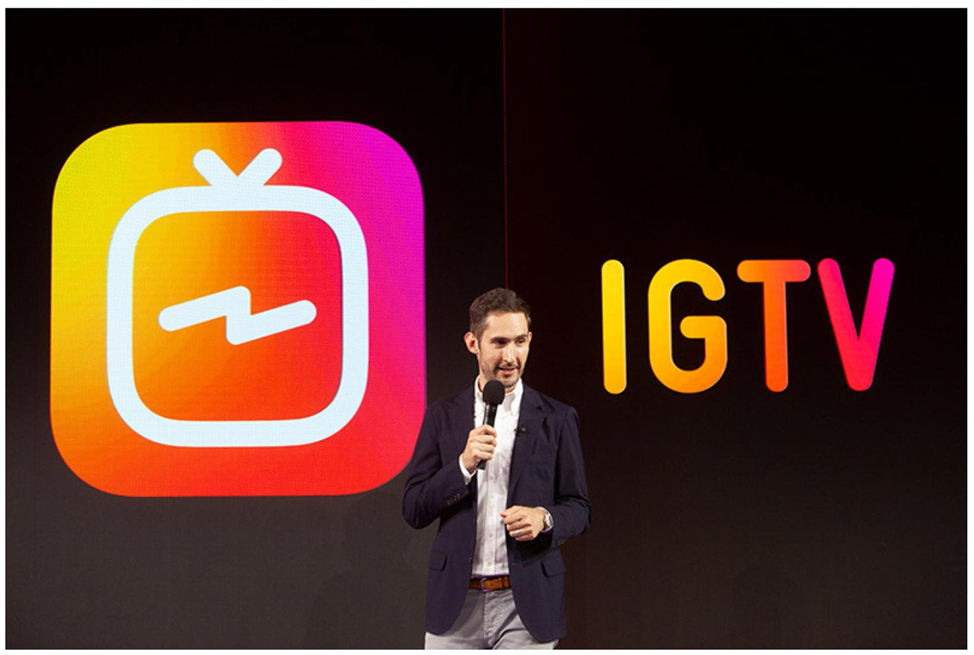 Instagram、最大1時間までの縦動画を視聴ができるiOSアプリ「IGTV」リリース