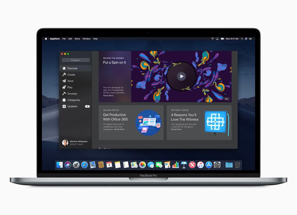 「macOS Mojave」の50個以上の新機能をまとめた動画