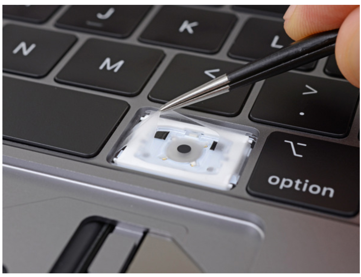 Macbookpro2018key