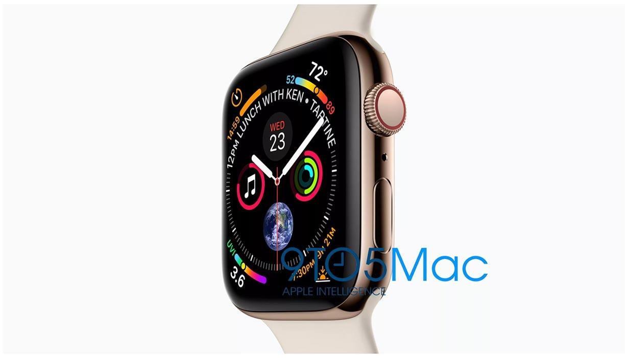 「Apple Watch Series 4」の42mmモデルの画面解像度は384×480になる!?