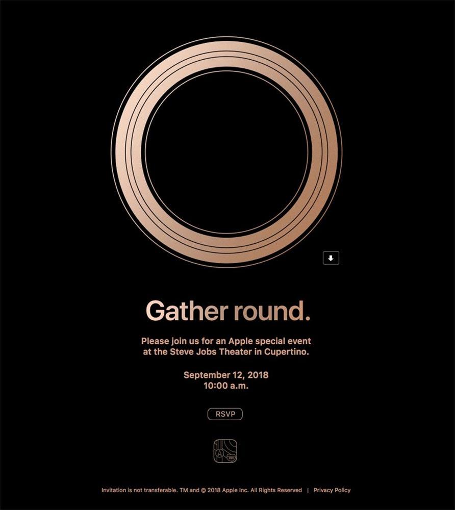 Apple、現地時間9月12日にスペシャルイベント開催することを発表 ―  次期「iPhone」などを発表へ