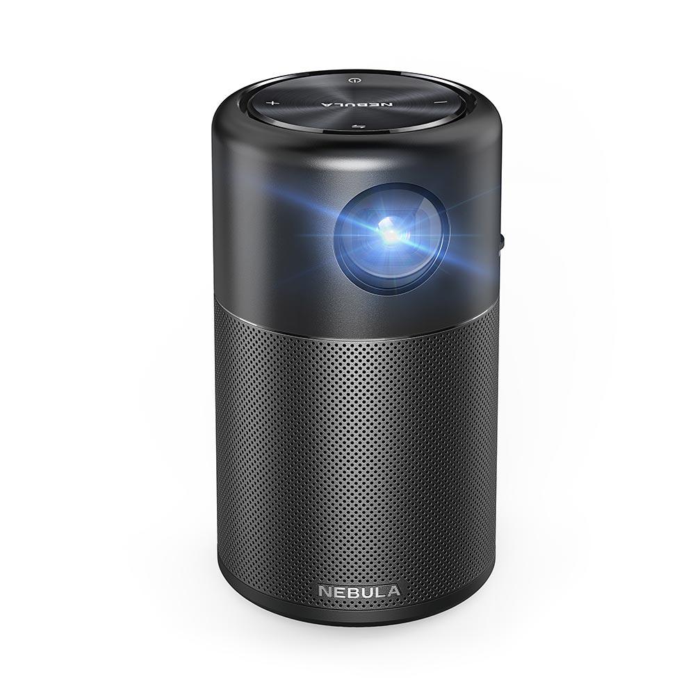 Anker、明るさが1.5倍になったAndroid搭載モバイルプロジェクターの「Anker Nebula Capsule Pro」の販売開始
