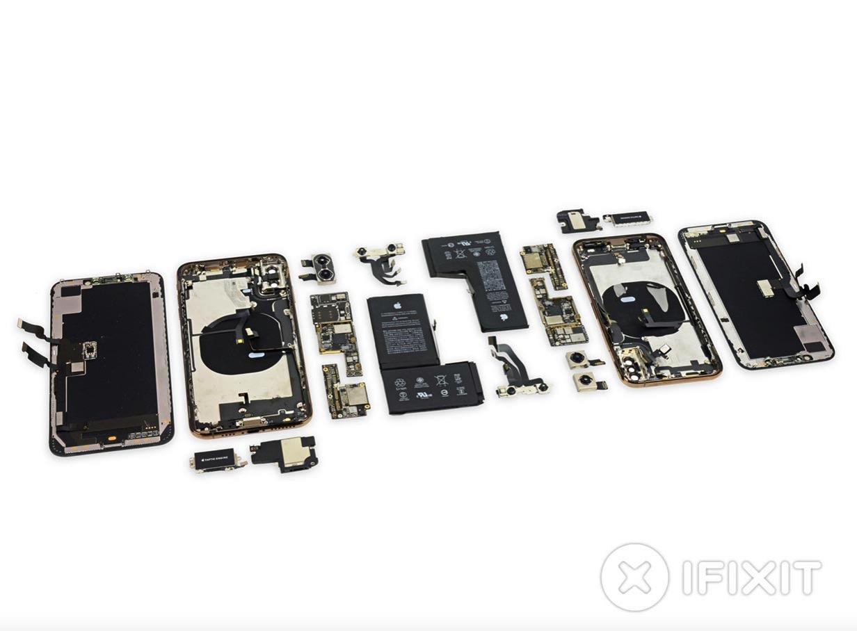 iFixit、「iPhone XS」と「iPhone XS Max」のバラシレポートを公開