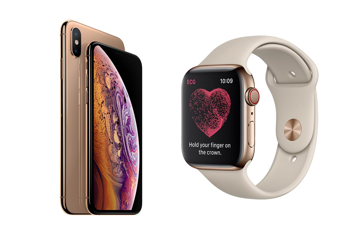Apple、「iPhone XS」「iPhone XS Max」「Apple Watch Series 4」の販売を開始