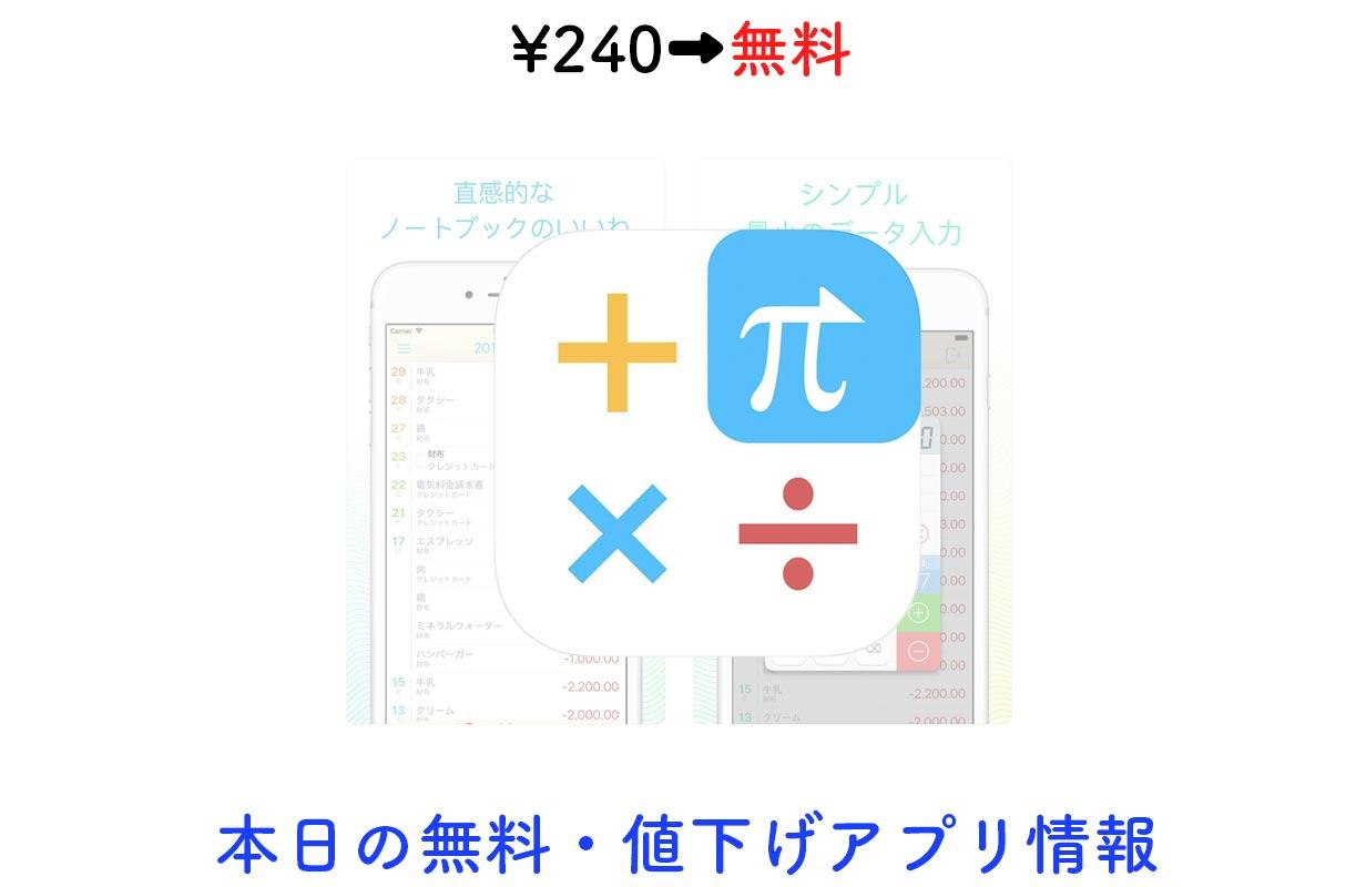 240円→無料、計算履歴機能もついた関数電卓アプリ「CALC Swift」など【10/8】セールアプリ情報