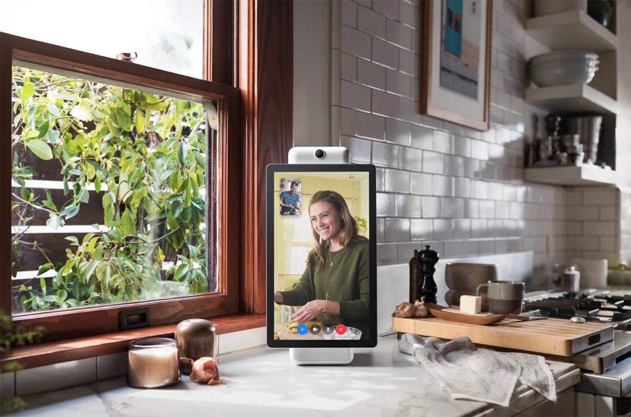 Facebook、ビデオコミュニケーションデバイス「Portal」と「Portal+」を発表
