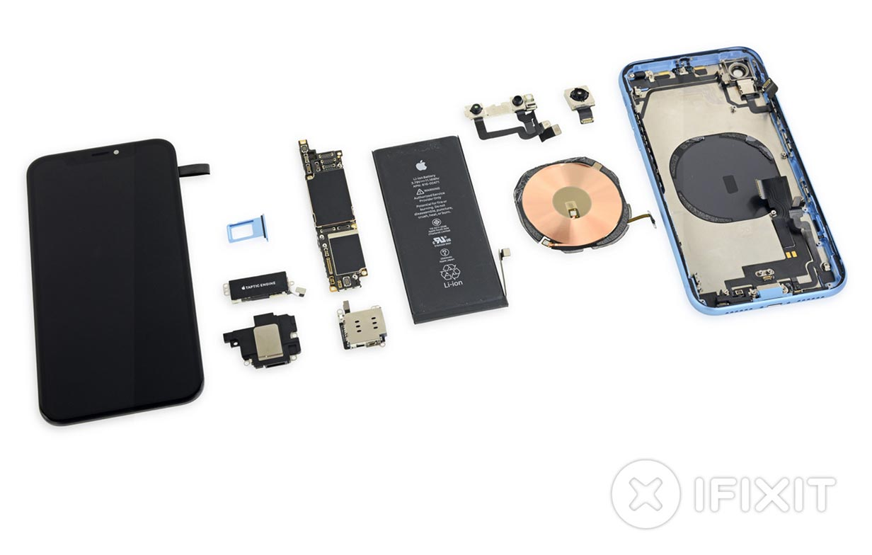 iFixit、「iPhone XR」のバラシレポートを公開