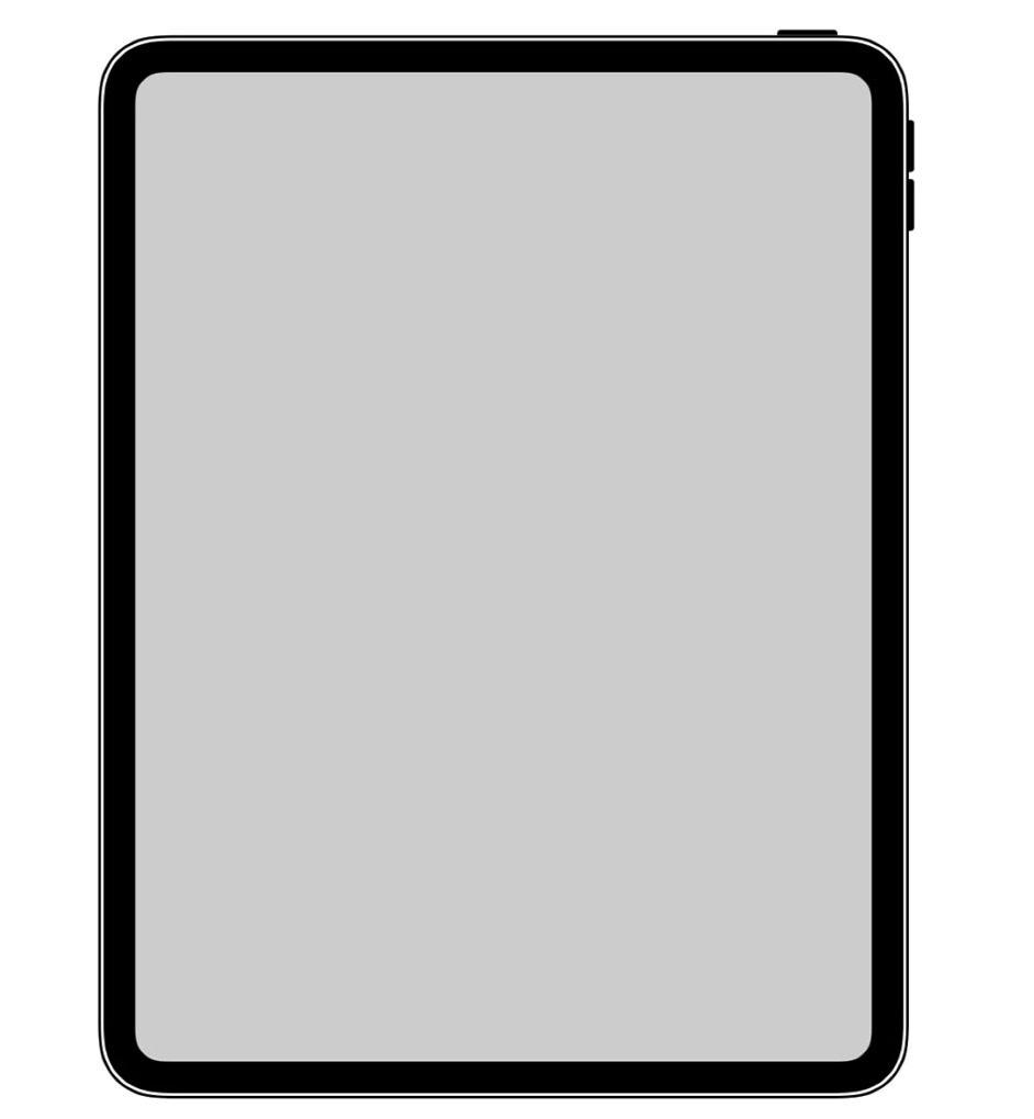 「iOS」にホームボタンのない新型「iPad Pro」とみられる新しいアイコンが見つかる