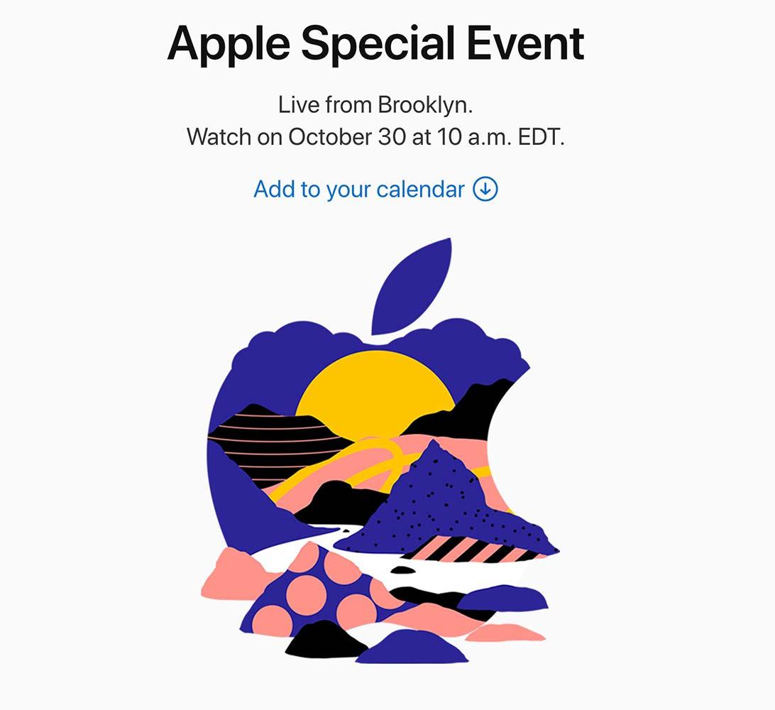 10月30日のスペシャルイベントではやはり「iPad Pro」や「Mac」のアップデートが行われる!?
