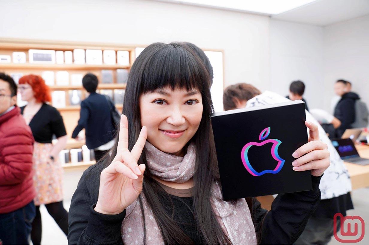 Apple 渋谷リニューアルオープン-大西結花さん