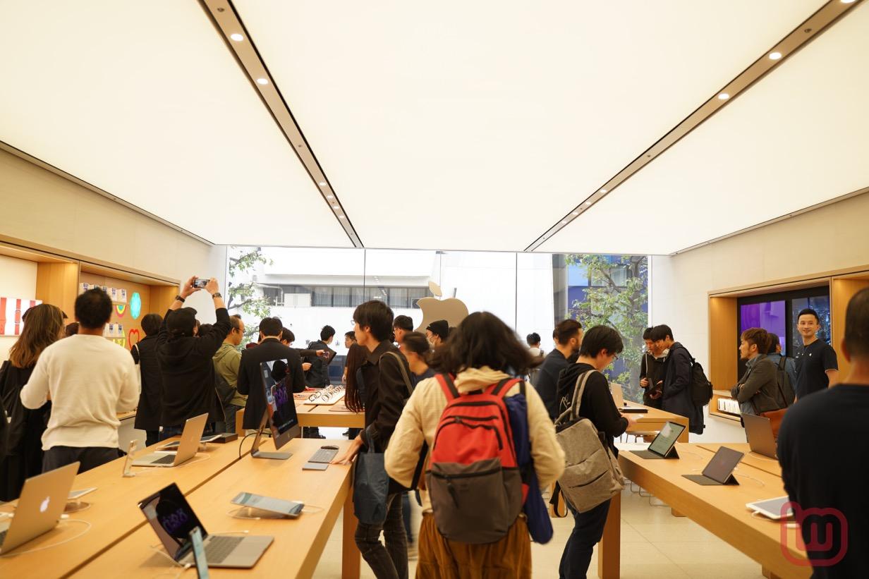 Apple 渋谷リニューアルオープン-05