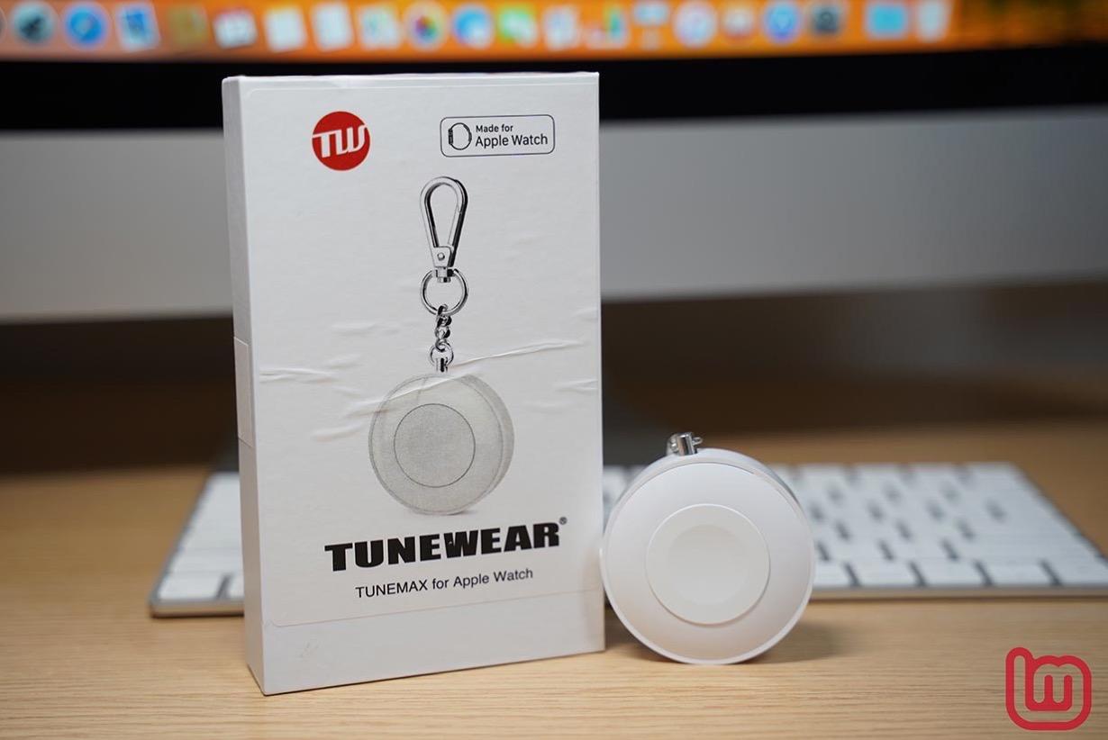 Apple Watchを最大1.5回分充電できる磁気充電式モバイルバッテリー「TUNEMAX for Apple Watch」をチェック
