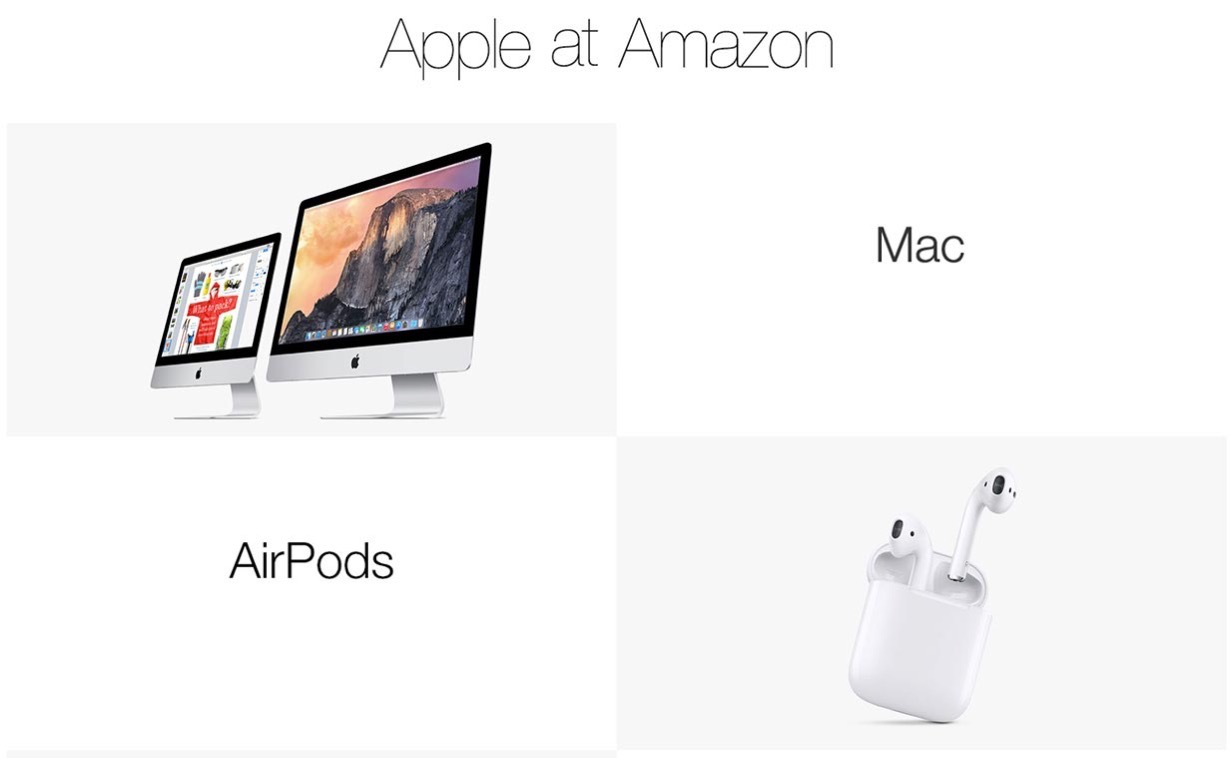 Amazon、iPhoneやMacなどのApple製品を販売 ー 日本でも今後販売へ