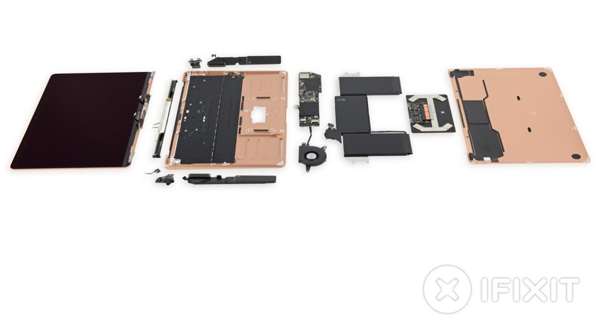 iFixit、「MacBook Air(Retina,2018)」のバラシレポートを公開