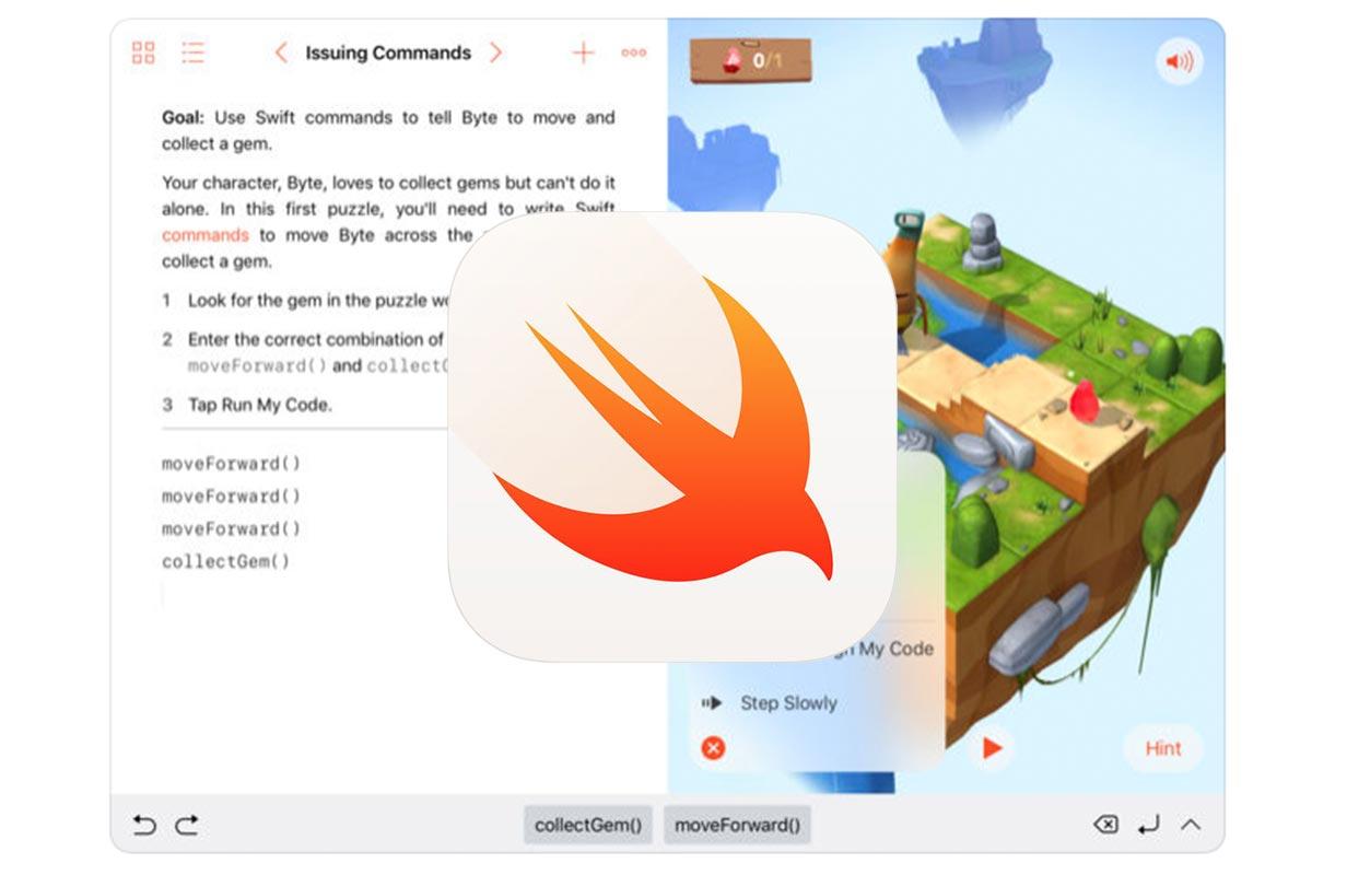 Apple、iPad向けアプリ「Swift Playgrounds 2.2」リリース ー 他社製の無料コンテンツを見つけやすく、直接ダウンロードできるようになるなど