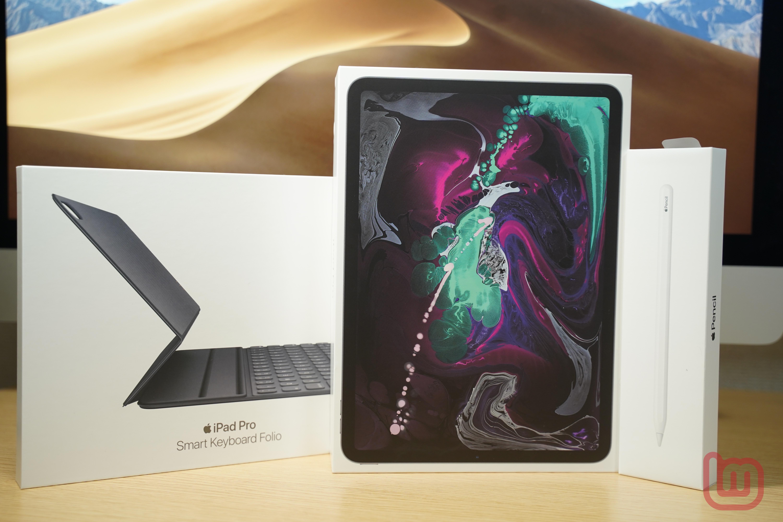 【レビュー】「iPad Pro(11インチ)」の外観をチェック ー Apple Pencil(第2世代)とSmart Keyboard Folioも