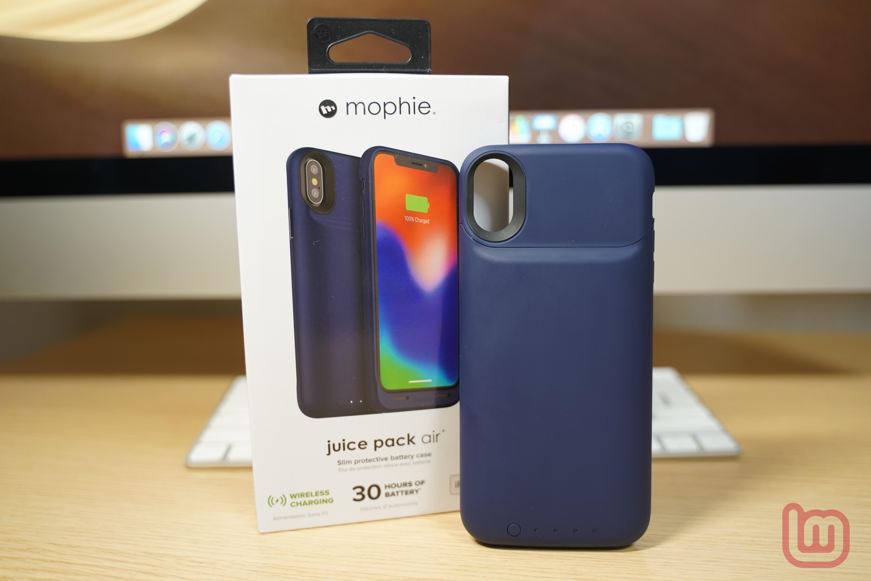 【レビュー】Qi対応ワイヤレスバッテリーiPhoneケース「mophie juice pack air for iPhone X」をチェック