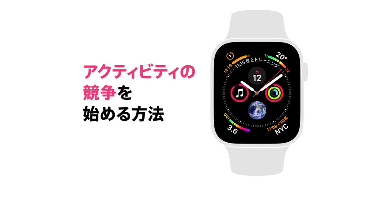 Apple Japan、「Apple Watch Series 4」の使い方を紹介した2本の動画を公開
