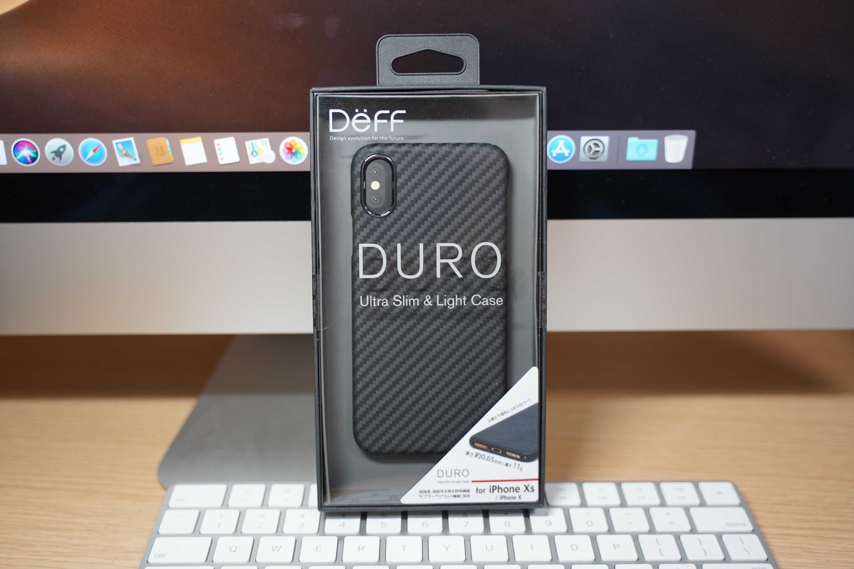【レビュー】iPhone XS向け超薄型・軽量ケース「Deff DURO」をチェック