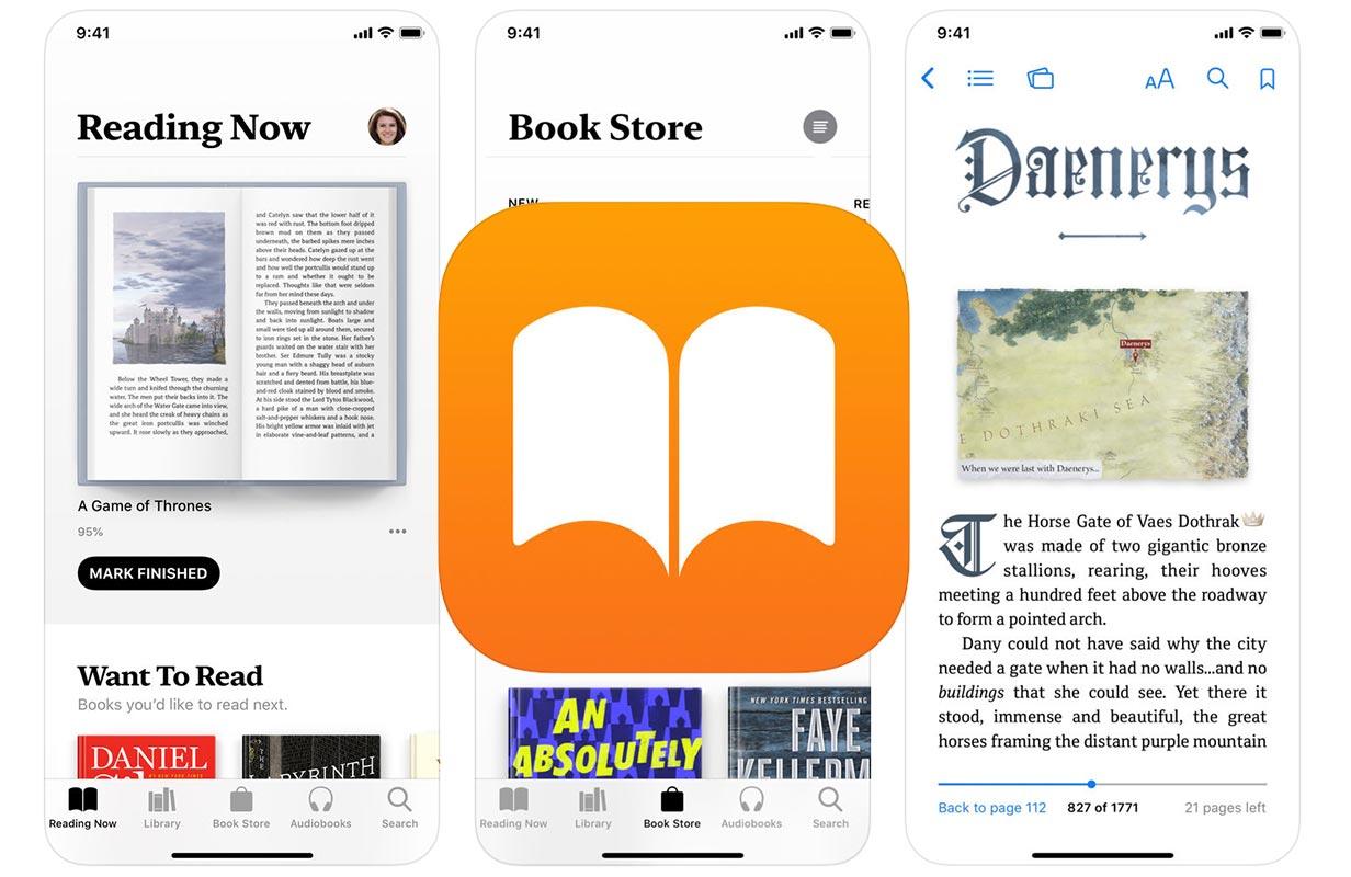 Apple、バグを修正して機能を強化したiOSアプリ「Apple Books 4.2.1」リリース