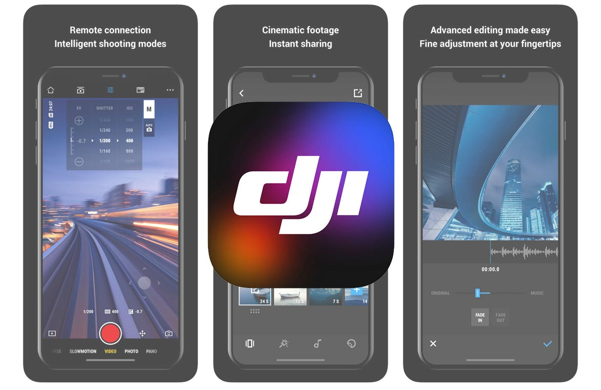 DJI、iOSアプリ「DJI Mimo 1.0.4」リリース ー Osmo Pocketのビデオ撮影でストーリーモードなどを追加