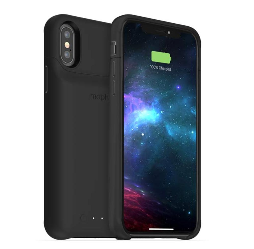 mophie、「iPhone XS/XS Max/XR」向けバッテリー内蔵ケース「juice pack access」を発表