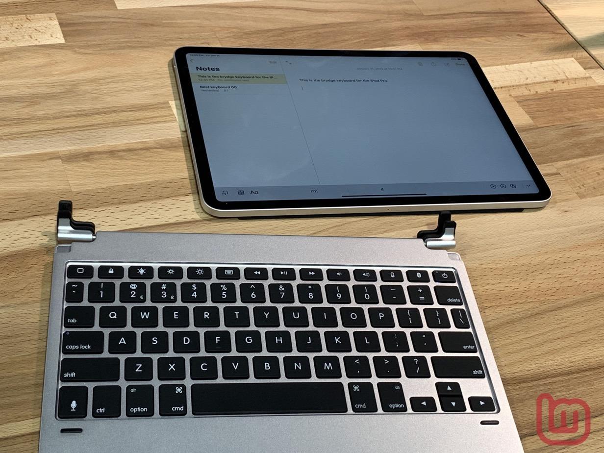 Brydge iPad Pro2018-01