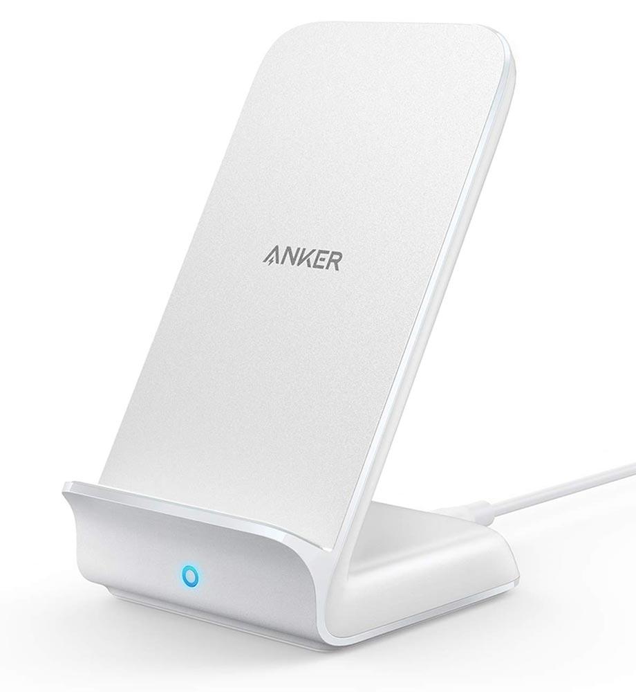 Anker、スタンド型ワイヤレス充電器「Anker PowerWave 7.5 Stand」にホワイトモデルを追加