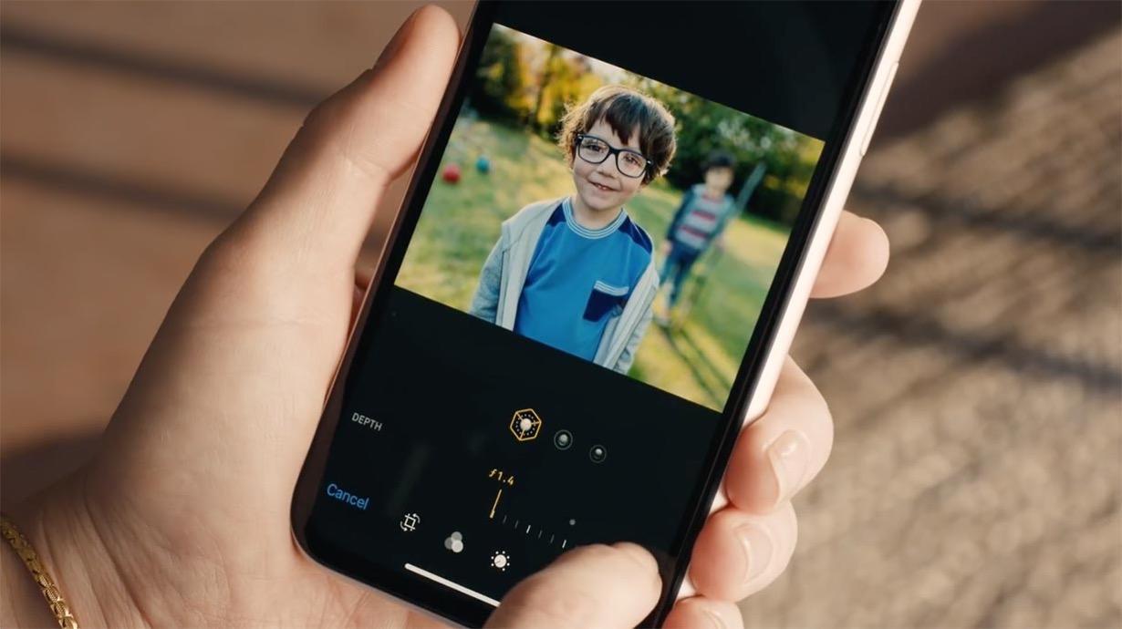 米Apple、「深度コントロール」機能をアピールしたiPhoneXS/XRの新しいCM「Depth Control ー Bokeh'd」を公開