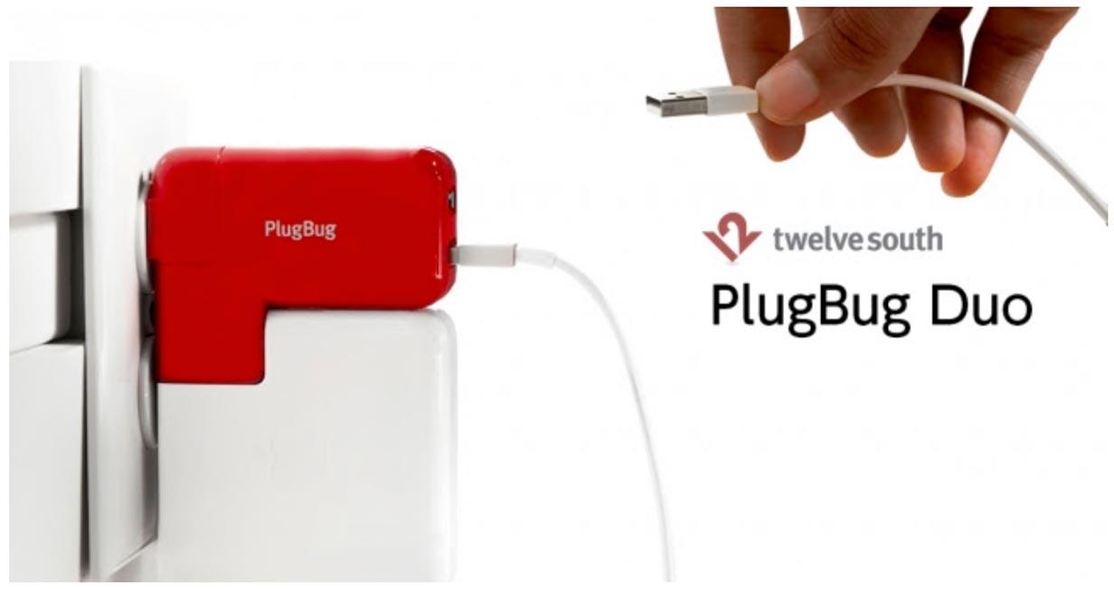 フォーカルポイント、Apple純正電源アダプタに2つのUSBポートを追加できる「Twelve South PlugBug Duo」の販売を開始