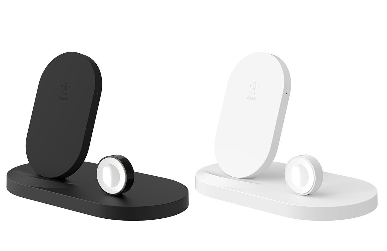 ベルキン、iPhoneなど3つのデバイスを同時に充電できるスタンド型ワイヤレス充電器「BOOST↑UP ワイヤレス充電ドック」を発売