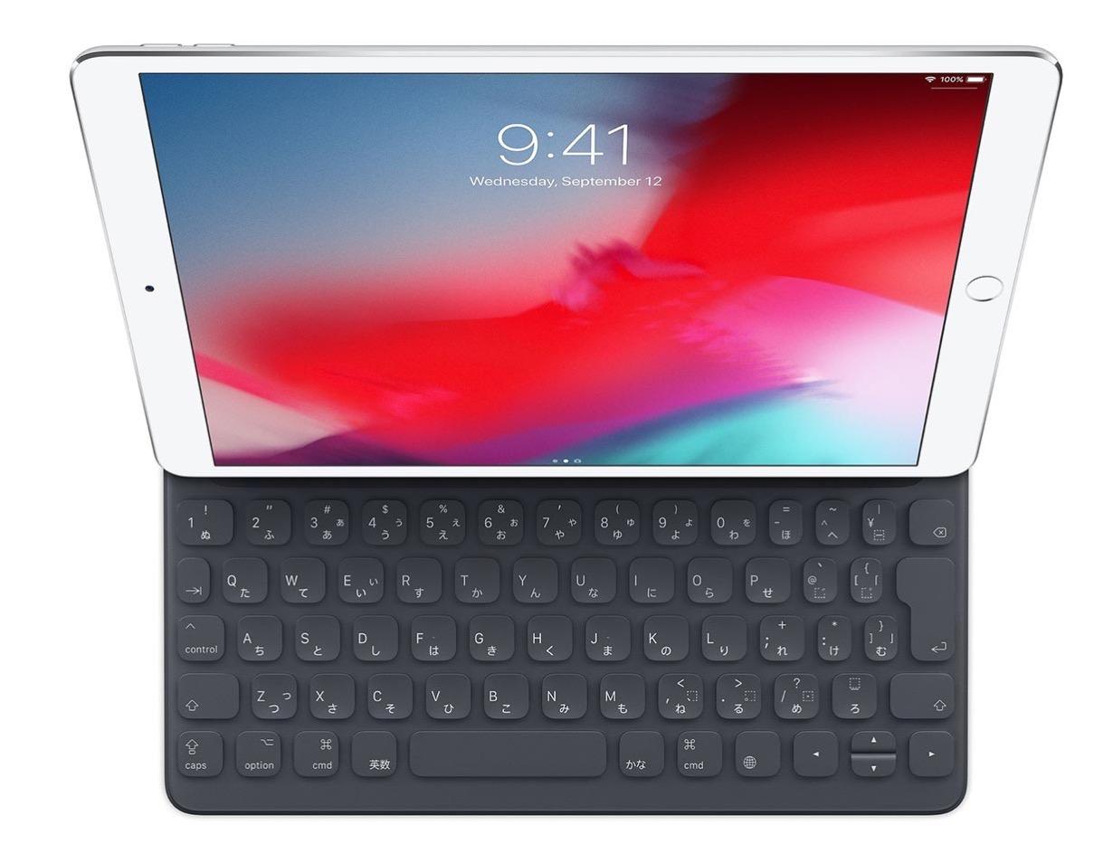 Apple、「10.5インチiPad Air用Smart Keyboard」の販売を開始 ー 「iPad Pro(10.5インチ)」用と同じ