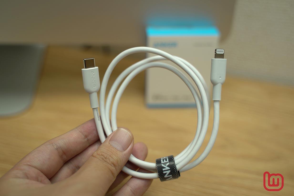 【レビュー】Anker、MFi認証を取得した初のUSB-C to Lightningケーブル「Anker PowerLine II USB-C & ライトニング ケーブル」を試す