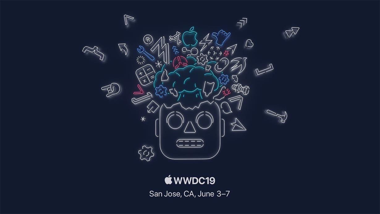 「WWDC 2019」の会場では準備が進められている