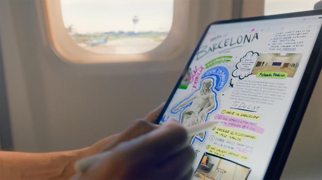 Apple Japan、「iPad Pro」の新しいCM「いつでもiPad Proと」を公開