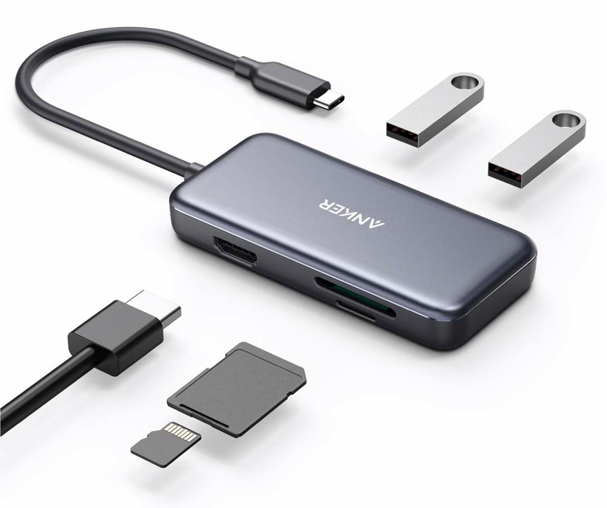 Anker Japan、「Anker 5 in-1 プレミアム USB-Cハブ」の販売を開始