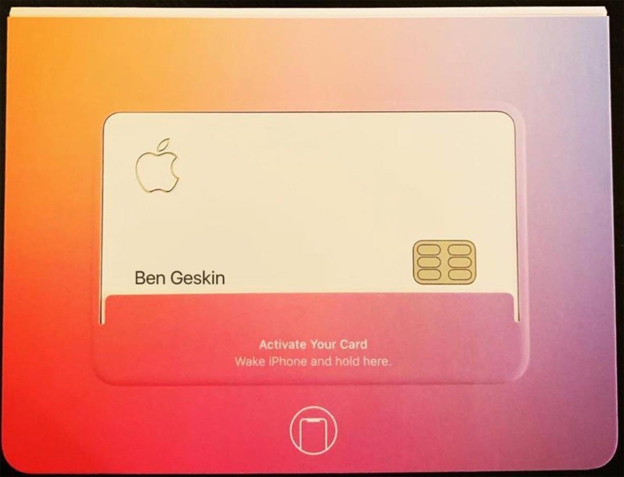 「Apple Card」の実物動画が公開される!?