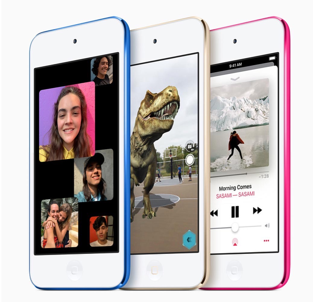 Apple、新型「iPod touch(第7世代)」を発表 ー A10 Fusionプロセッサを搭載しグループFaceTimeとARに対応