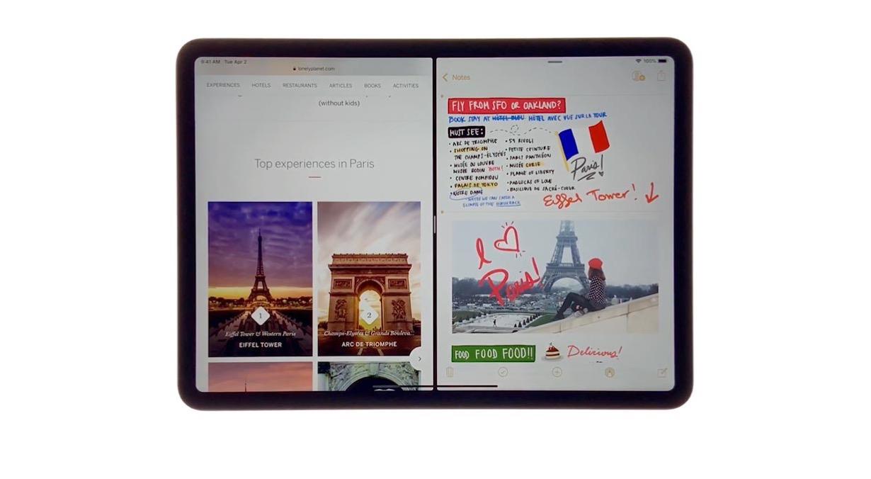 Apple、「iPad Pro」の使い方などを紹介したプロモーション動画「新しい方法で旅行しよう」を公開