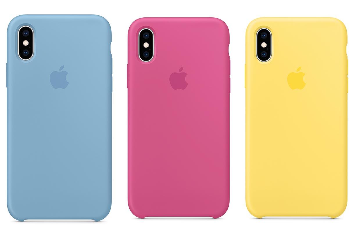 Apple、「iPhone XS/XS Max」のシリコーンケースに新色を追加