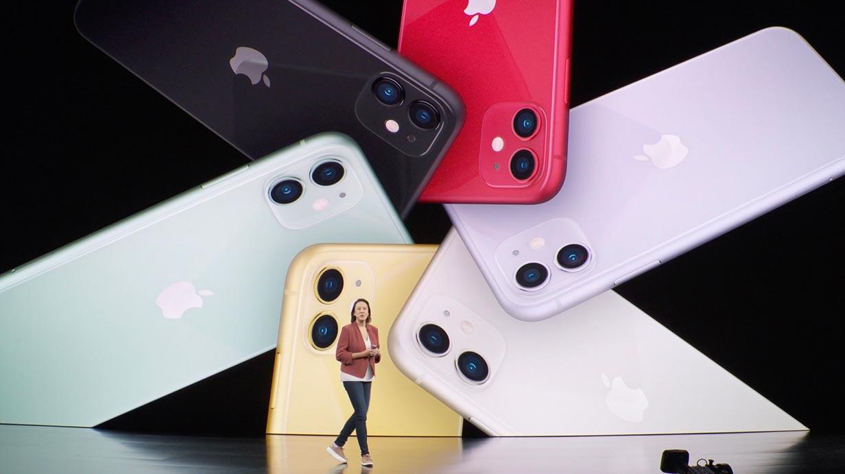 Apple、デュアルカメラを搭載した「iPhone 11」を発表