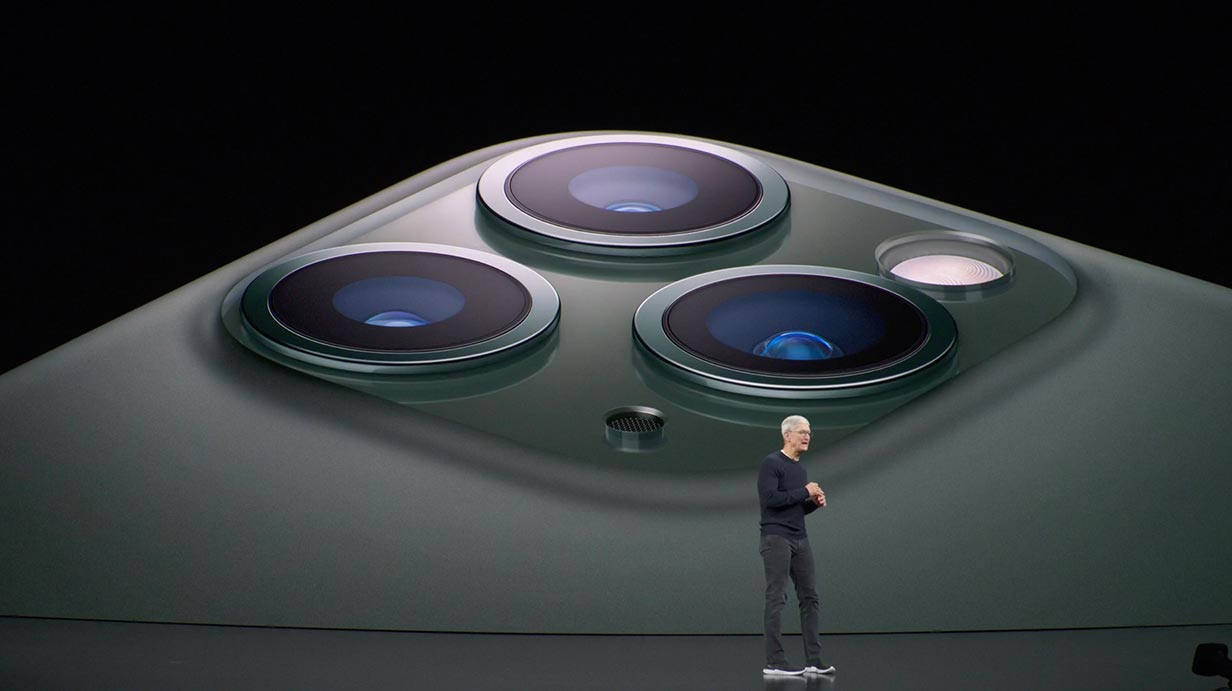 Apple、Super Retina XDRディスプレイを搭載した「iPhone 11 Pro」「iPhone 11 Pro Max」を発表
