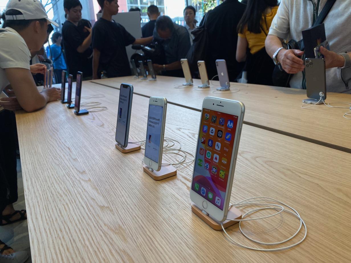 Apple 福岡 展示3
