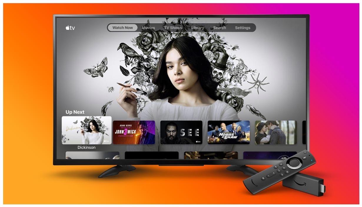 Apple、一部の国で「Amazon Fire TV」向けに「Apple TV」アプリの提供開始