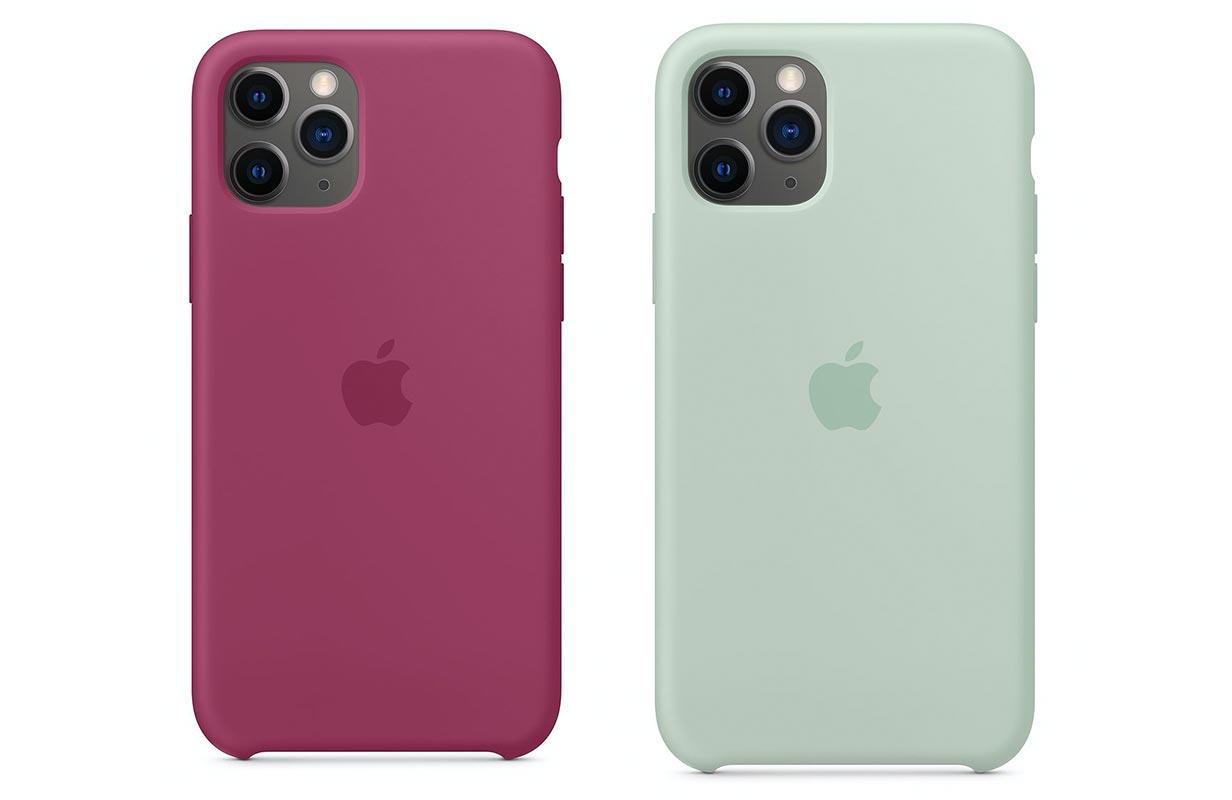 Apple、「iPhone 11 Pro/11 Pro Max」のシリコーンケースに新色を追加