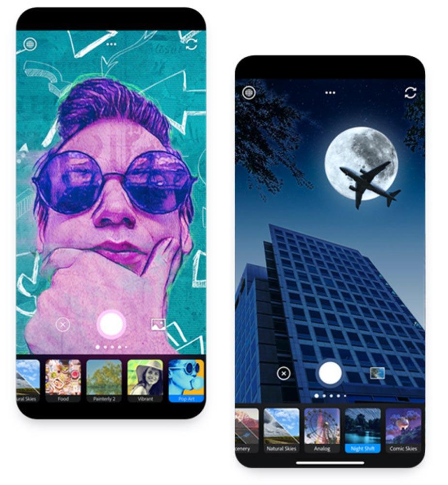 Adobe、iOS向けカメラアプリ「Adobe Photoshop Camera」を発表 ー 2020年にリリースへ