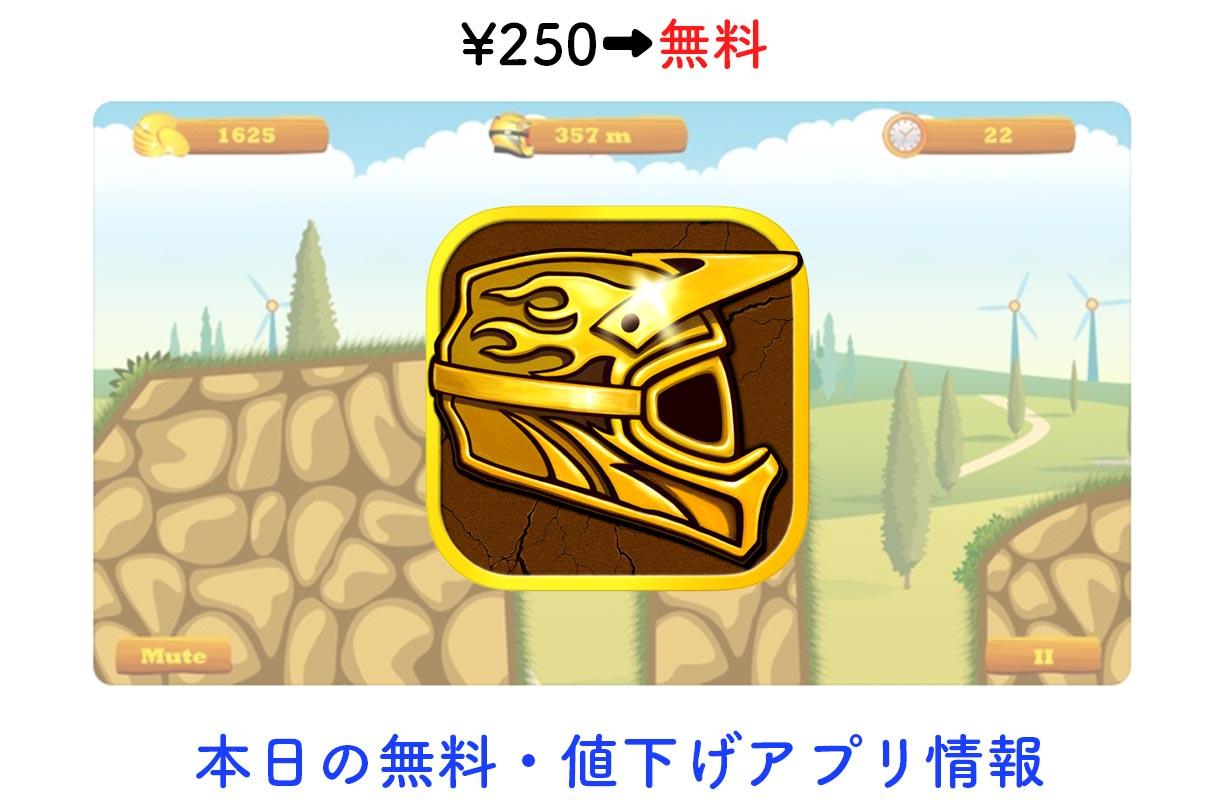 250円→無料、バイクアクションゲーム「Moto Hero」など【12/8】セールアプリ情報
