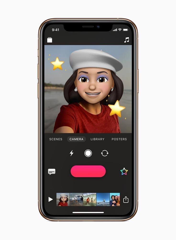 Apple、新たにミー文字とアニ文字に対応したiOS向け動画作成アプリ「Clips 2.1」リリース
