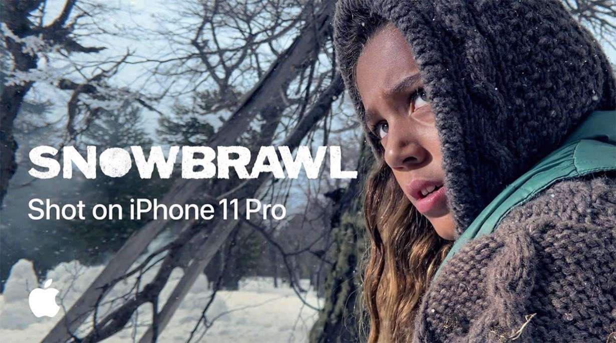 Apple、iPhone 11 Proで撮影したプロモーション動画「Shot on iPhone 11 Pro — Snowbrawl」公開